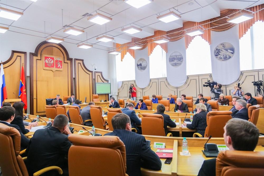 Красноярские депутаты хотят увольнять и согласовывать назначение чиновников