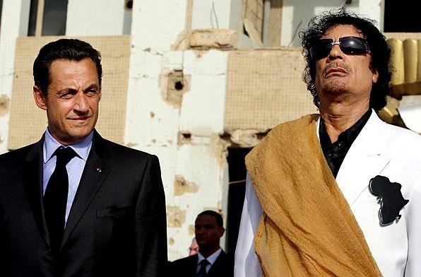 Каддафи спонсировал избирательную кампанию «умственно отсталого» Саркози