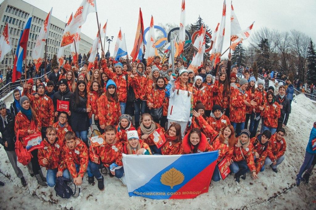 Фоторепортаж с проведения эстафеты олимпийского огня в Пятигорске