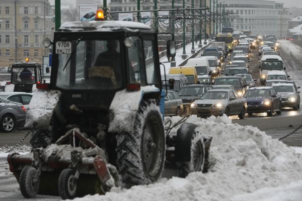 8 баллов: Москва стоит в пробках