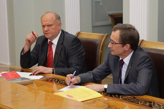 Николай Левичев дал комментарий по поводу сообщений СМИ о переговорах «Справедливой России» и КПРФ