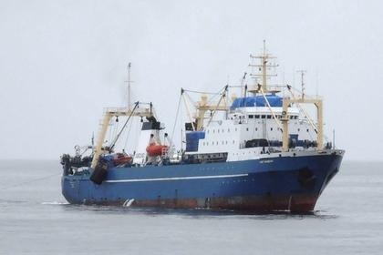 После выплаты штрафа, рыболовецкое судно
