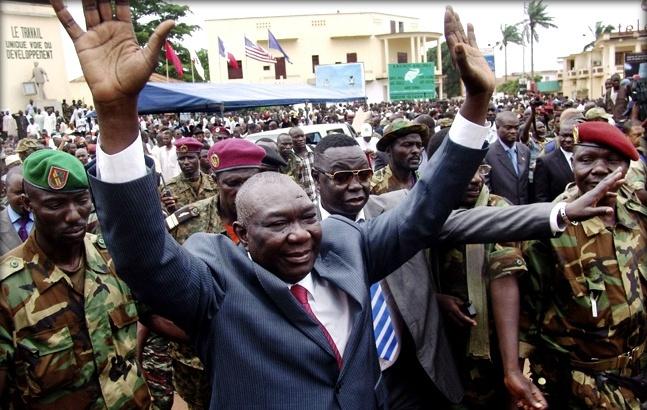 Президент Центральноафриканской республики подал в отставку