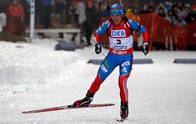 Биатлонист Гараничев взял бронзу в гонке преследования на КМ в Германии