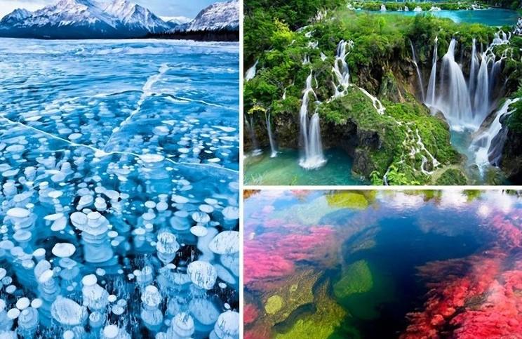 Самые красивые водные пейзажи мира