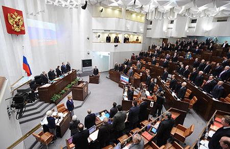 Совет Федерации в специальном заявлении выразил обеспокоенность ситуацией, сложившейся на Украине