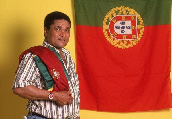 Ушел из жизни легендарный португальский футболист Эйсебио