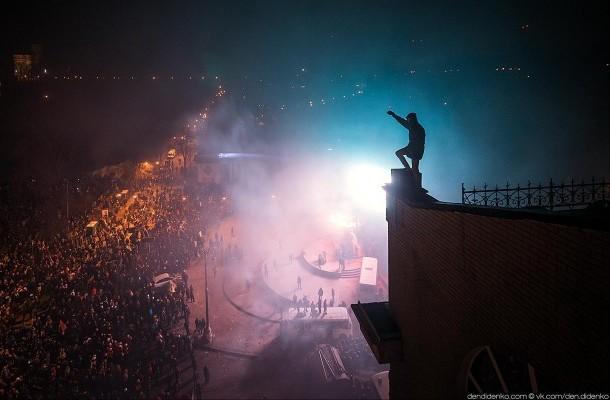 В Киеве захвачено здание Министерства аграрной политики