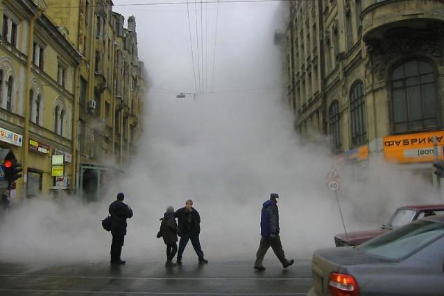 В Питере без тепла остались 500 домов