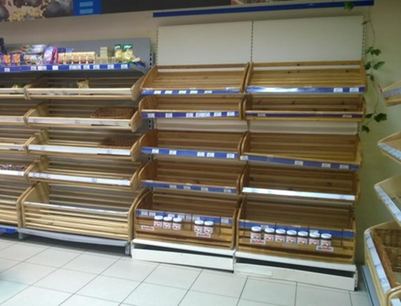 Третьи сутки в Ростове-на-Дону практически не купить хлеб
