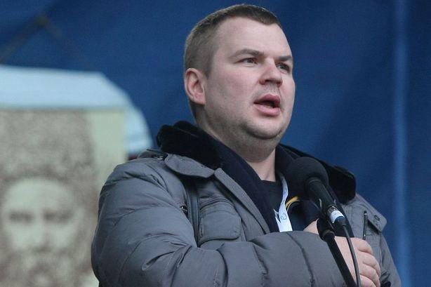 Лидер Автомайдана Булатов, которого распяли,  дал первое интервью. Видео