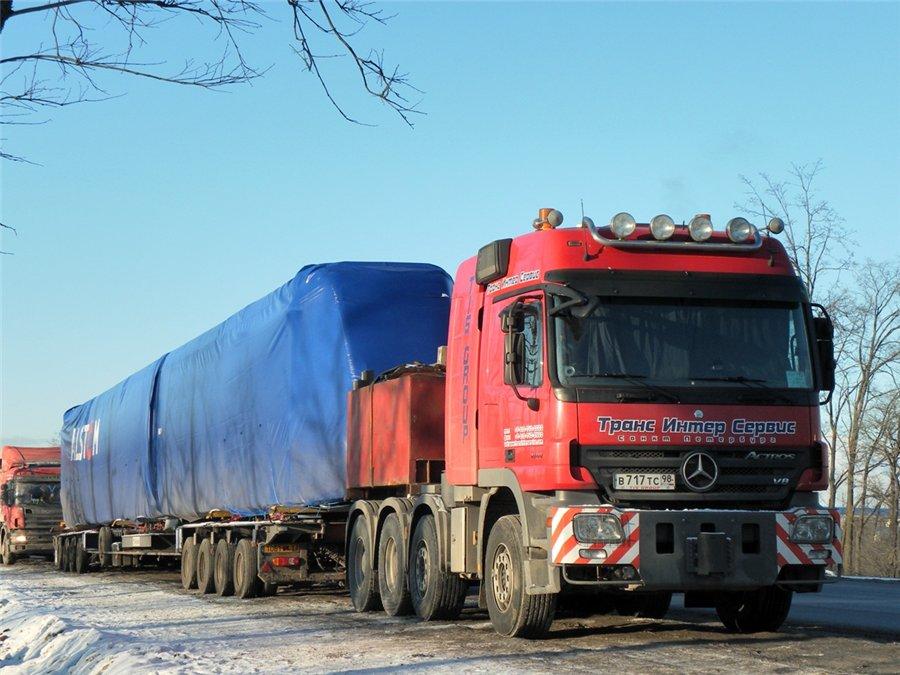 В Красноярске будут взвешивать грузовики, чтобы сохранить асфальт