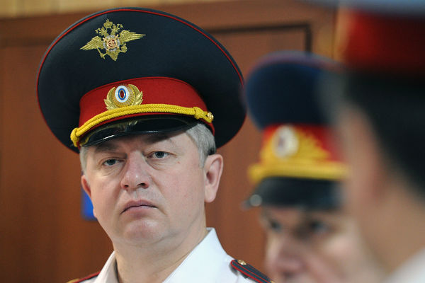 Уволился главный гаишник Москвы