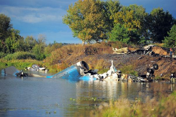 Экспертиза: экипаж разбившегося в 2011 году ЯК-42 был не готов к полету