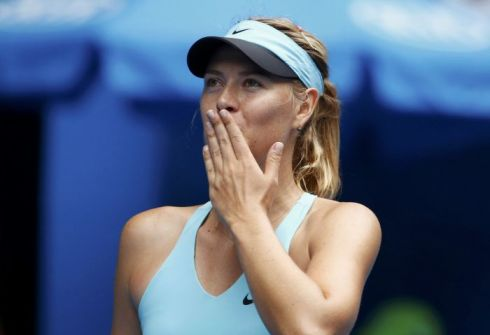 Шарапова проиграла Цибулковой и вылетела из Australian Open
