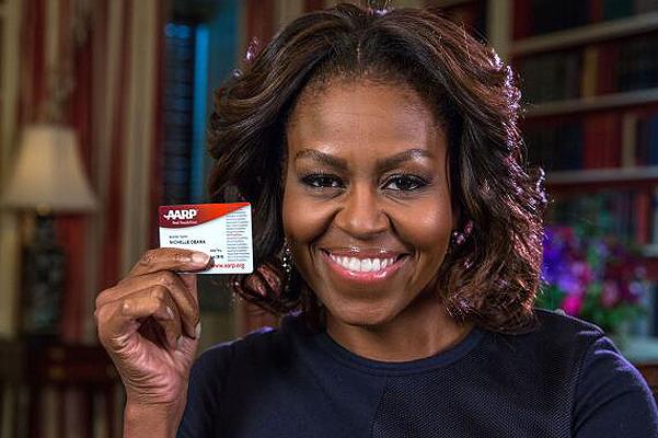 Мишель Обама вступила в Ассоциацию американских пенсионеров