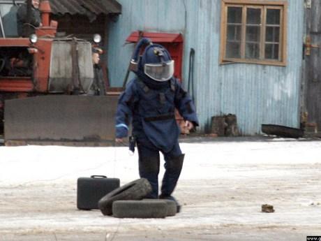Взрывное устройство найдено у здания администрации в одном из дагестанских сел