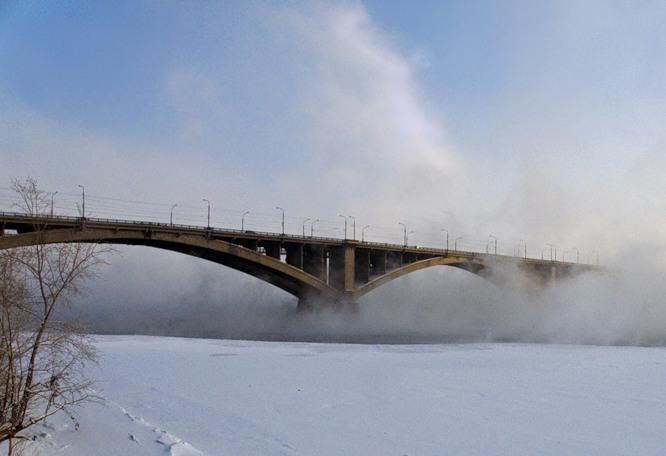 Красноярск установил новый температурный рекорд