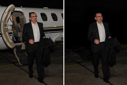 С официального снимка главы Минсельхоза исчез самолет