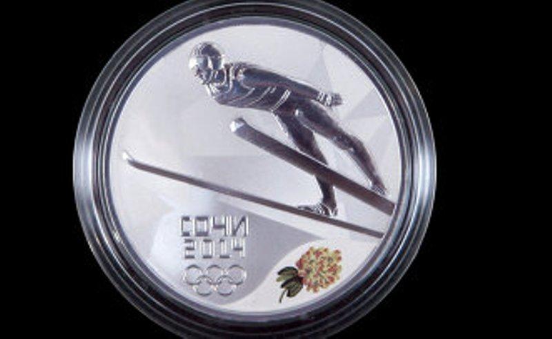 В Японии монеты в честь Олимпиады в Сочи продадут почти по 1 тысяче долларов
