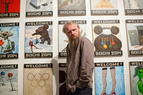 «Олимпийскую» выставку красноярского художника запретили в Германии