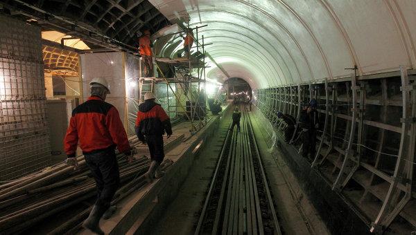 Остановлено движение поездов на «синей» ветке московского метро внутри Кольцевой