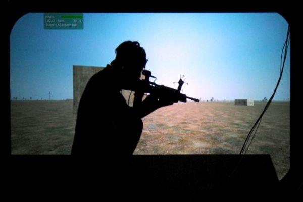 Американские военные испытывают новый виртуальный тренажер