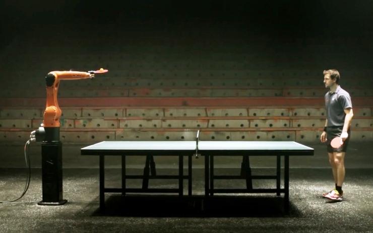 11 марта в Китае пройдет поединок по настольному теннису между машиной и человеком