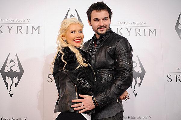Кристина Агилера беременна