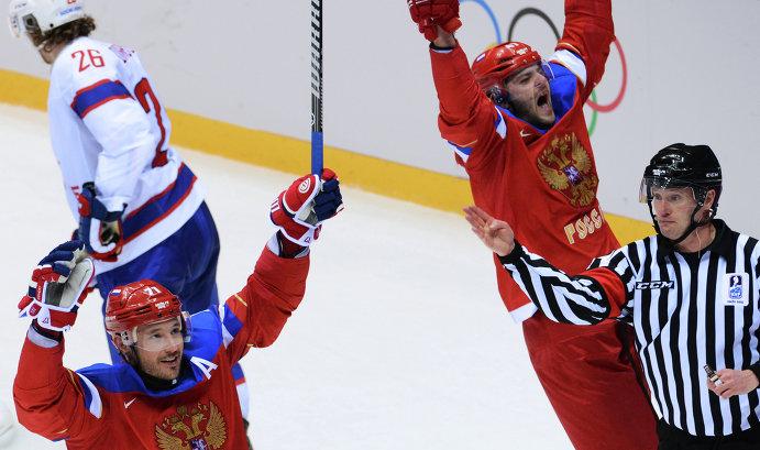 Сборная России переиграла норвежцев