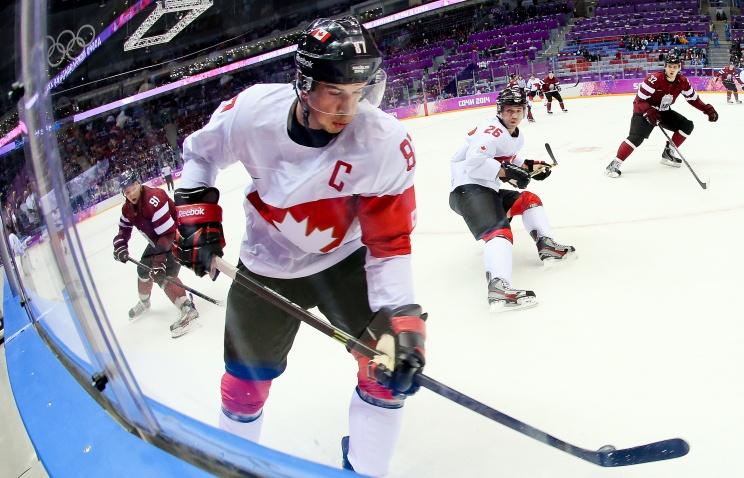 Сборная Латвии стала автором сенсации в игре с канадцами