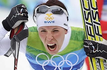 Лыжная эстафета. «Золото» у женской сборной Швеции