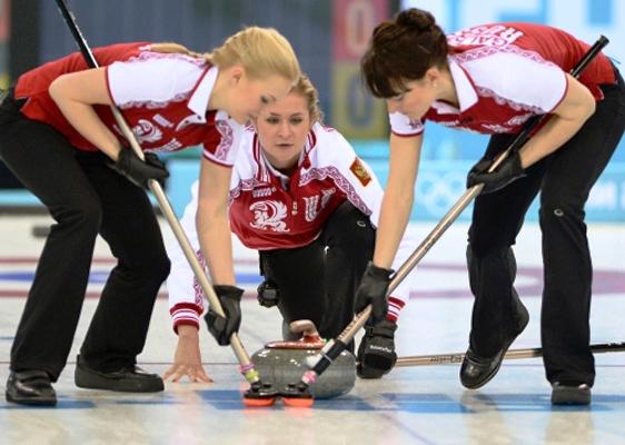 Женская сборная России по керлингу проиграла сборной Китая матч третьего круга Олимпийского турнира