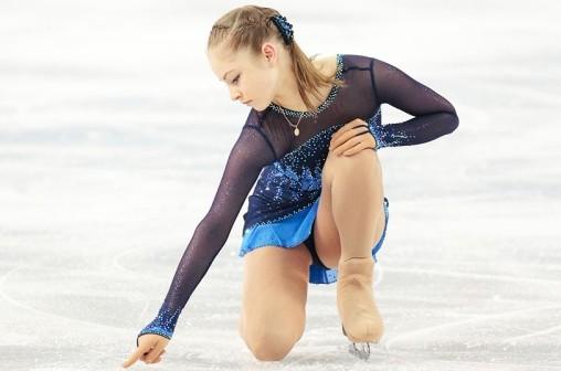 Фигуристка Юлия Липницкая объяснила, почему упала