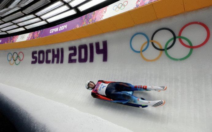 В Сочи на соревнованиях по санному спорту победила спортсменка из Германии