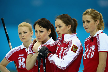 Российская сборная по керлингу проиграла Канаде