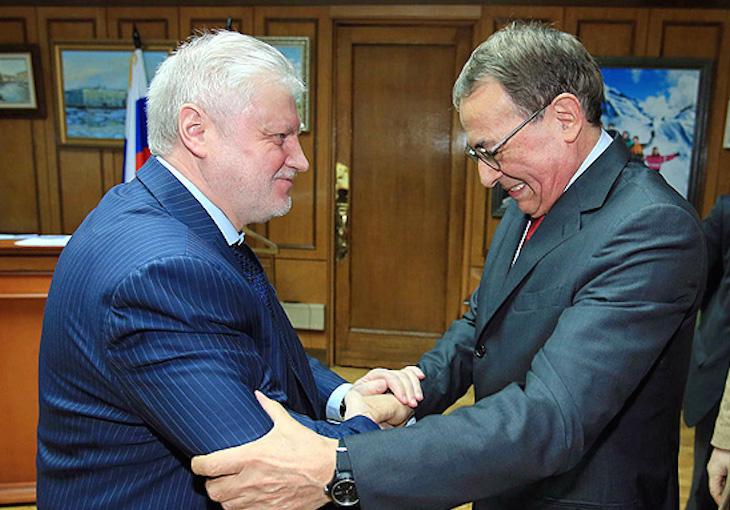 Сергей Миронов обратился к Социнтерну с просьбой дать оценку проявлениям  неонацизма на Украине