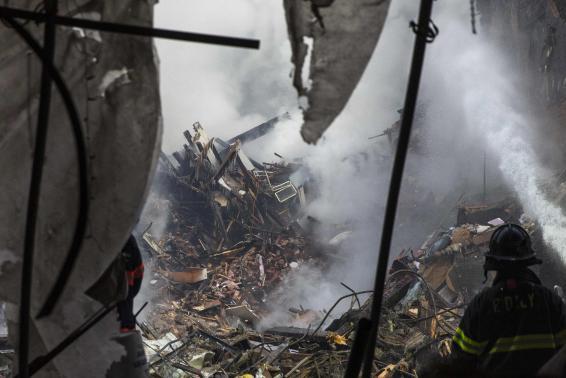Взрыв дома в Нью-Йорке: начато расследование