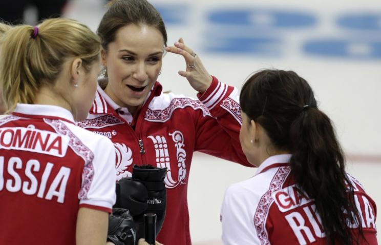 Впервые в истории женская сборная России по керлингу завоевала бронзу чемпионата мира