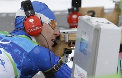 Биатлонист Николай Полухин - серебряный призер Параолимпиады-2014