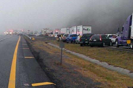 Крупная авария: в штате Огайо США столкнулись 50 автомобилей