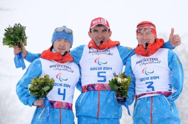Паралимпиада-2014. Российские лыжники заняли весь пьедестал в спринте