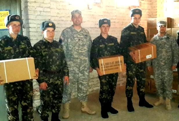 Америка помогла! 330 тыс. сухих пайков доставлено в Украину