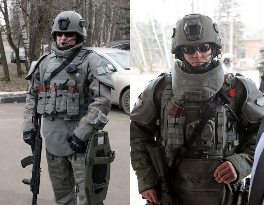 В Сети появились фото российских военных в новой экипировке