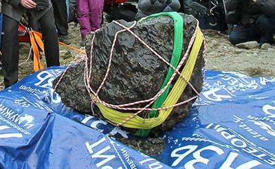 На дне озера Чебаркуль найден крупный фрагмент челябинского метеорита