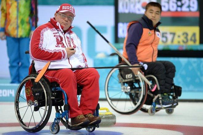 Паралимпиада 2014: Российская сборная обыграла Корею в керлинге на колясках
