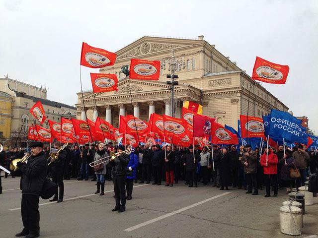 В субботу Москва вышла на демонстрации