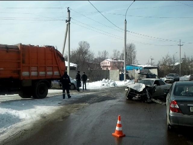 ДТП в Иркутске: пострадала женщина-водитель и ее шестилетняя дочь