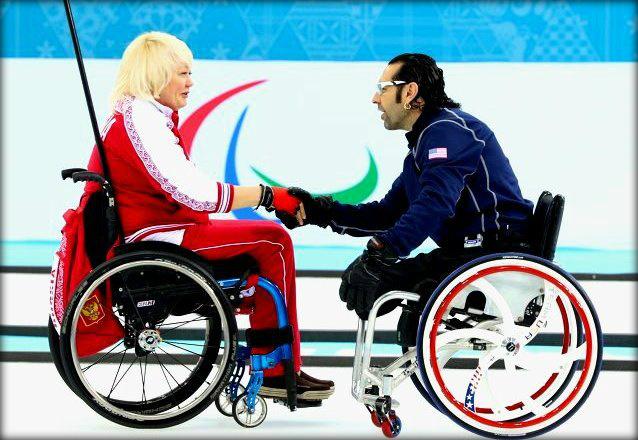 Паралимпиада 2014: Россия обошла Америку в керлинге на колясках