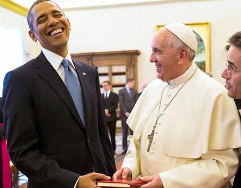 Обама привез в Ватикан семена
